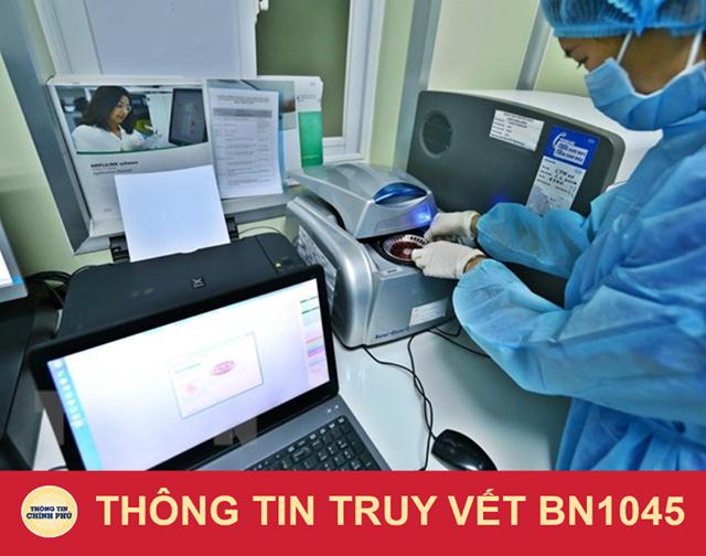 Lịch trình di chuyển: Bệnh nhân tên N. H. T (72 tuổi) ở tại Thôn Khay, xã Thống Nhất, huyện Gia Lộc.